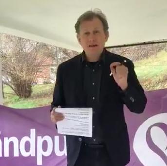 Carl Schlyter håller 1:a maj-tal 2020