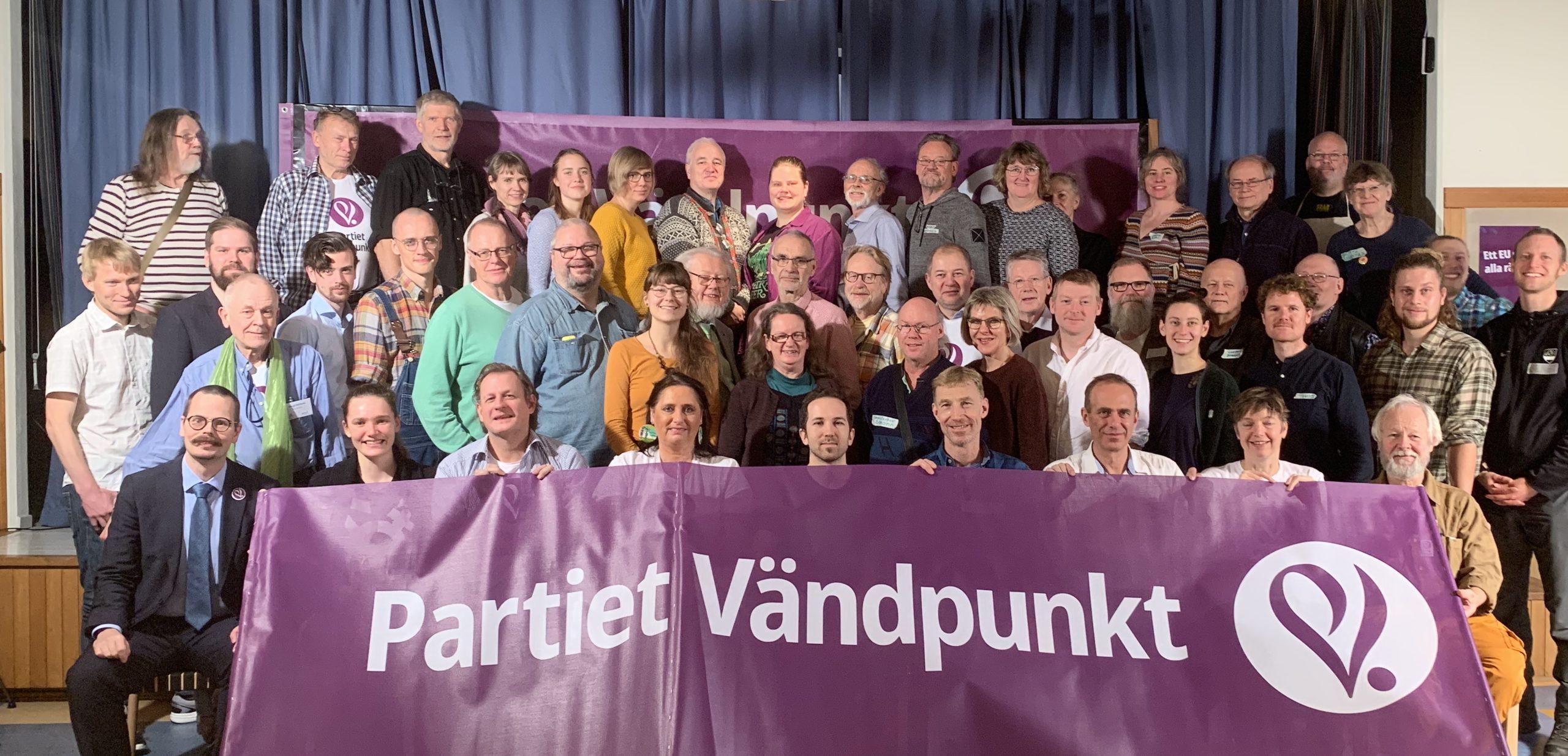 Medlemmar på mötet i Göteborg nov 2019